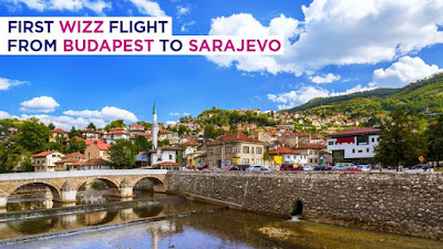 ✈ Wizz Air, Budapest-Sarajevo flights established!