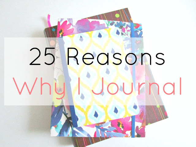 Why I Journal from Courtney's Little Things