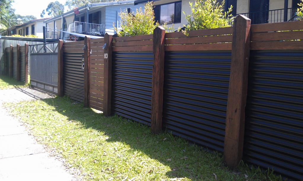 Backyard fencing ideas rustic refined