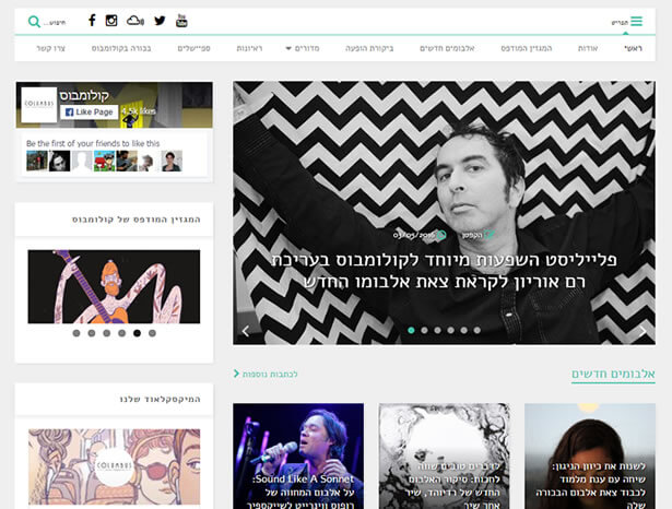 Translate and RTL Ready News WordPress Theme