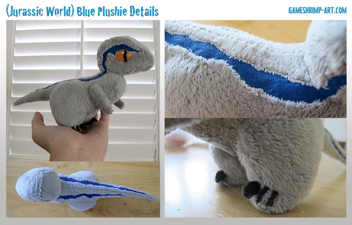 GameShrimp: Jurassic World Plushie: Blue