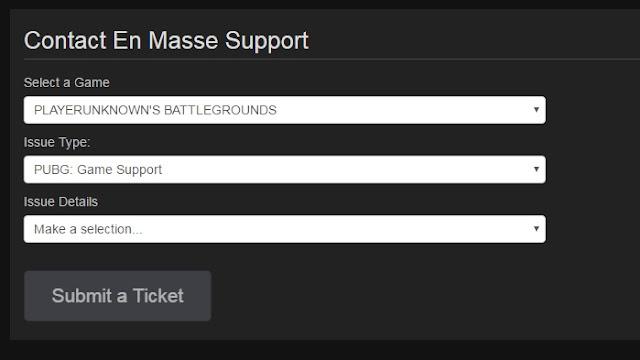Как пожаловаться на игрока/отправить репорт Playerunknown's Battlegrounds?
