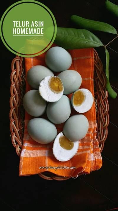 Resep Membuat Telur Asin Homemade anti gagal