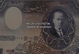 ilk türk lirası