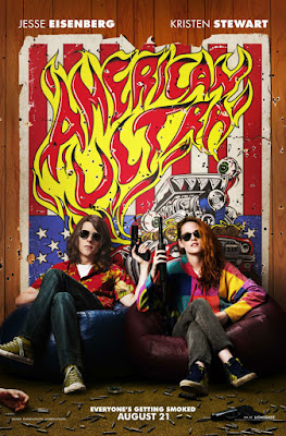 Poster Of Free Download American Ultra 2015 300MB Full Movie Hindi Dubbed 720P Bluray HD HEVC Small Size Pc Movie Only At worldfree4u.com