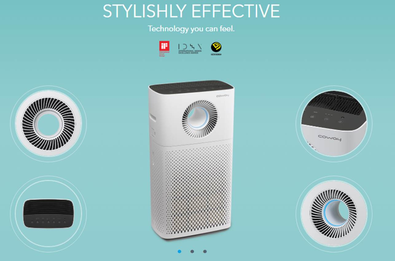 powerful air circulator haze mode luxurious touch led display