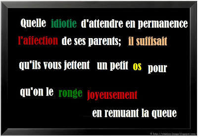 Citation famille en image