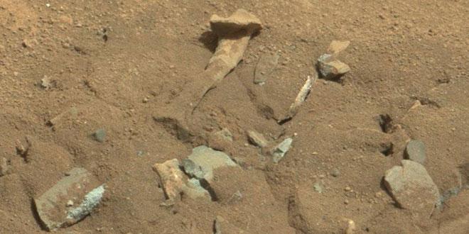 Penemuan Tulang Paha Alien Di Mars + Foto Asli