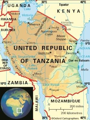 Sam In Tanzania Where Is Tanzania - Where is tanzania