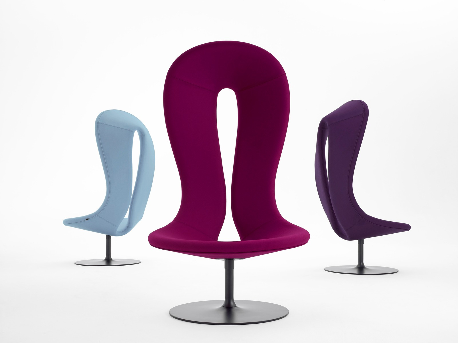 Wonderful image of  and Futuristic Furniture: armchairs chairs bar chairs and poufs with #65013D color and 1600x1201 pixels
