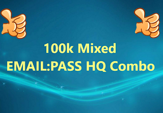 100k Mixed EMAIL:PASS HQ Combo (MIXED HITS: FORTNITE, STREAMING, PORN, VPN and much more....)