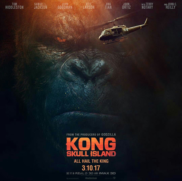 Kong: Skull Islan (2017), Jordan Vogt-Roberts, CINE ΣΕΡΡΕΣ, Tom Hiddleston, Samuel L. Jackson, Brie Larson,