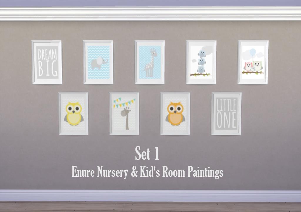 Enure Nursery Kids Room Paintings