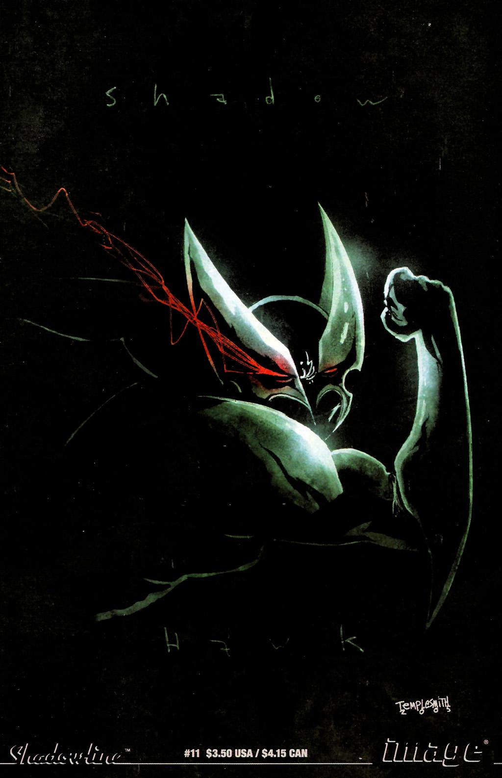 Read online ShadowHawk (2005) comic -  Issue #11 - 1