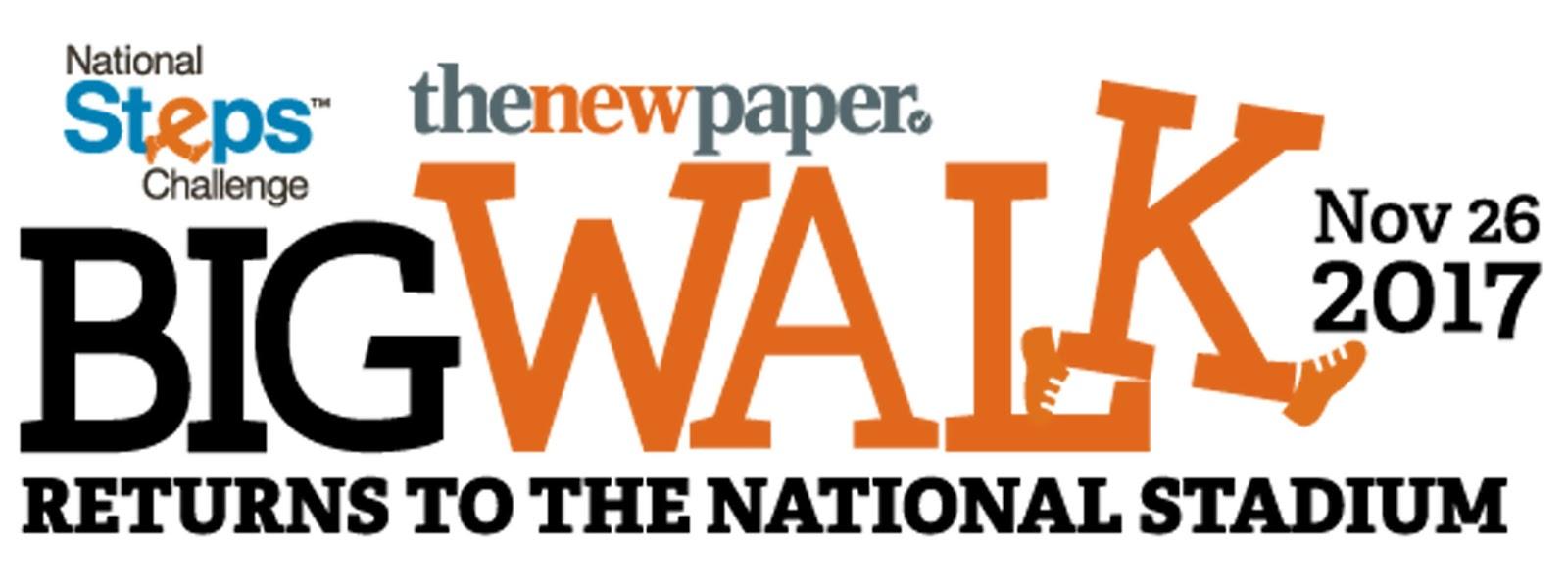 The New Paper Big Walk (26 November 2017)