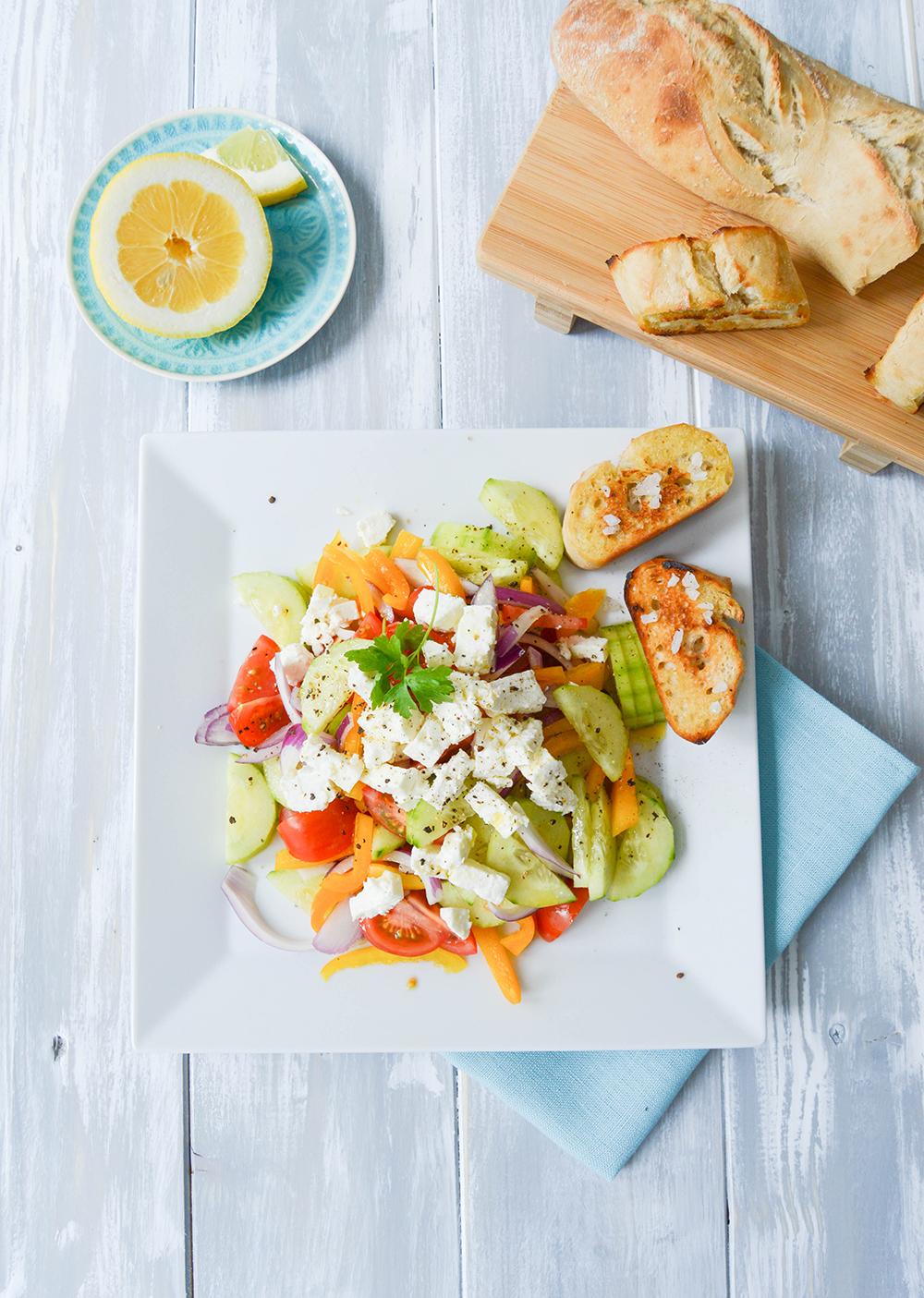 Griechischer Feta Salat