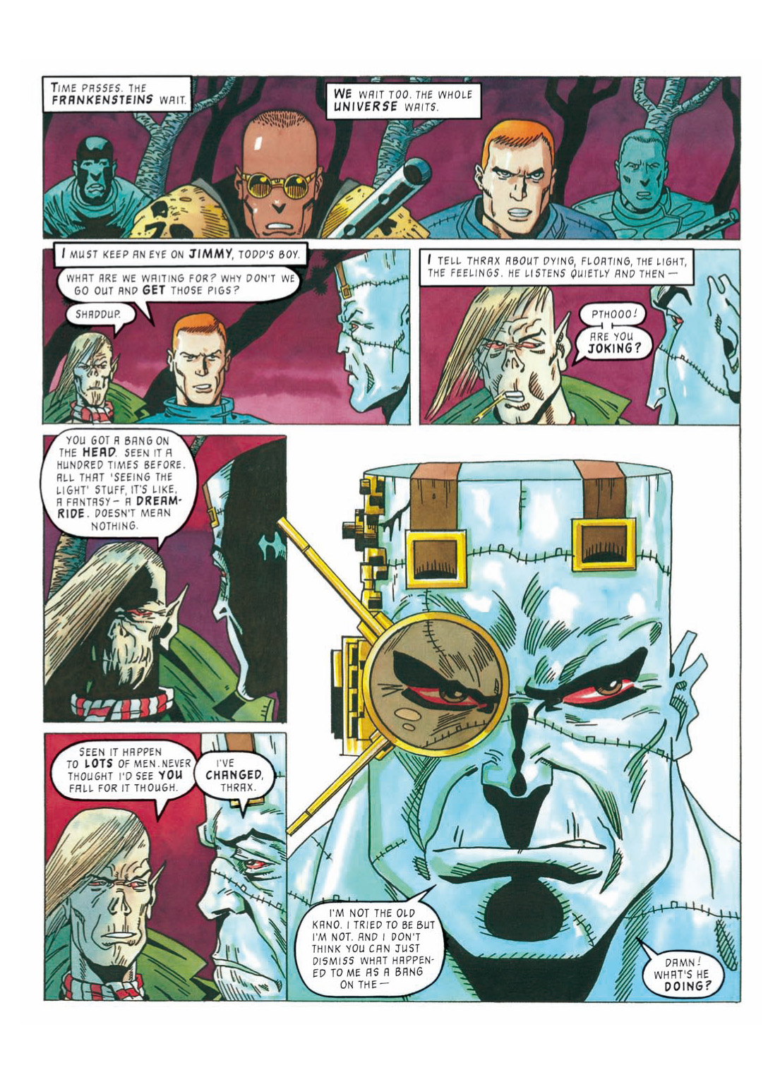 Read online The Complete Bad Company comic -  Issue # TPB - 307