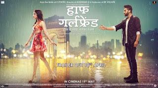 "Baarish Exclusive Romantic Song from movie Half Girlfriend Watch online Shraddha Kapoor and Arjun Kapoor enjoying """