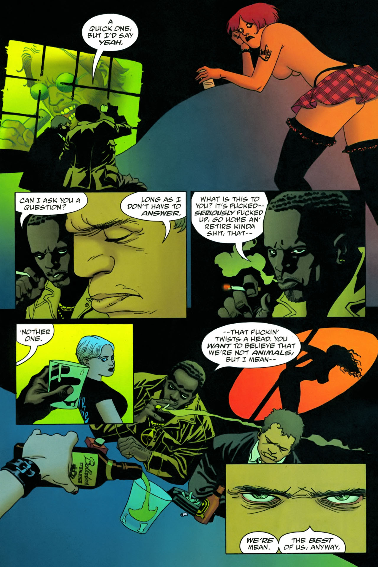 Read online 100 Bullets comic -  Issue #86 - 8