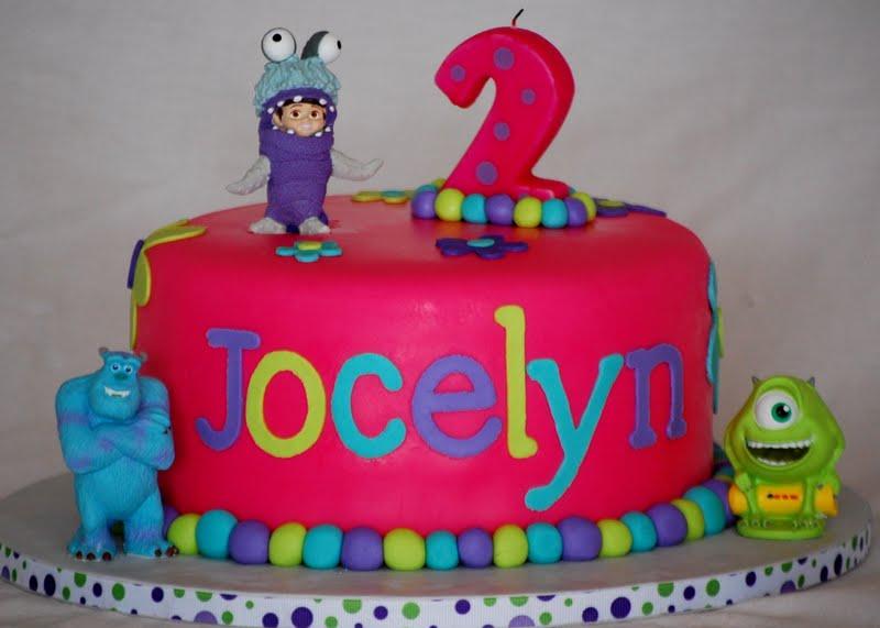 Cakefilley Monster S Inc Cake