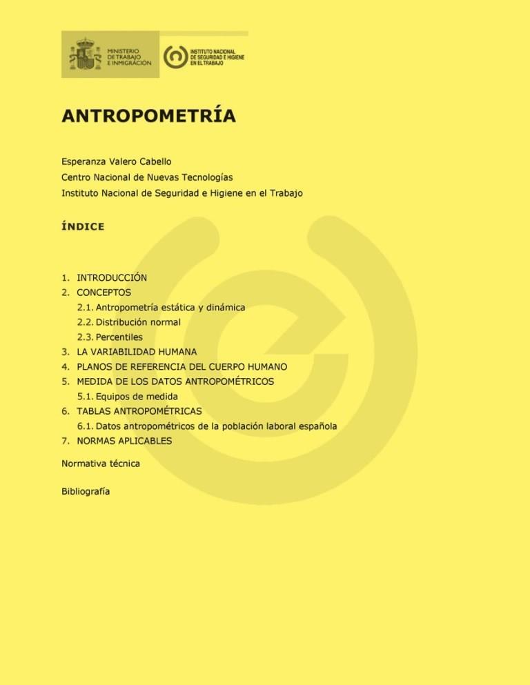 Antropometr a freelibros for Antropometria libro