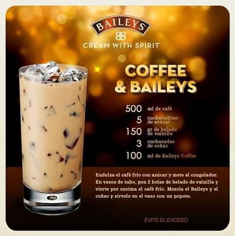 25 Recetas De Bebidas Con Licor Baileys Que Te Har 225 N La