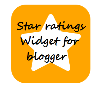 Star ratings widget in blogger | 101helper gadgets for blogger