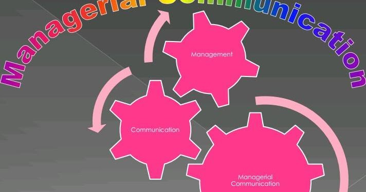 managerial communications Managerial communications involves gathering important information from both inside and out side the organization and distributing appropriate information to others who need it.