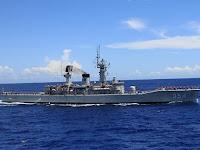 Hebat! Kini Kapal Coast Guard China Tak Berani Dekati Kapal RI