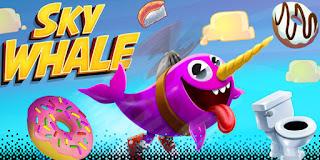 imagem do jogo Sky Whale