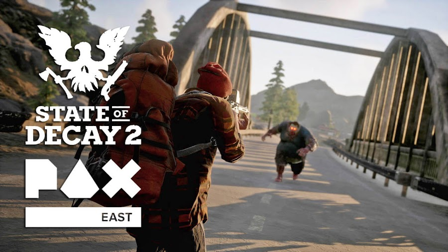 state of decay 2 pax east gameplay