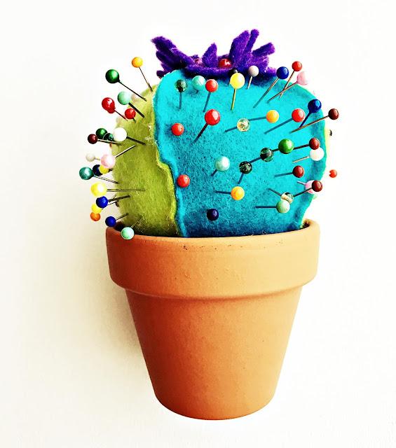 szpilkowy kaktus