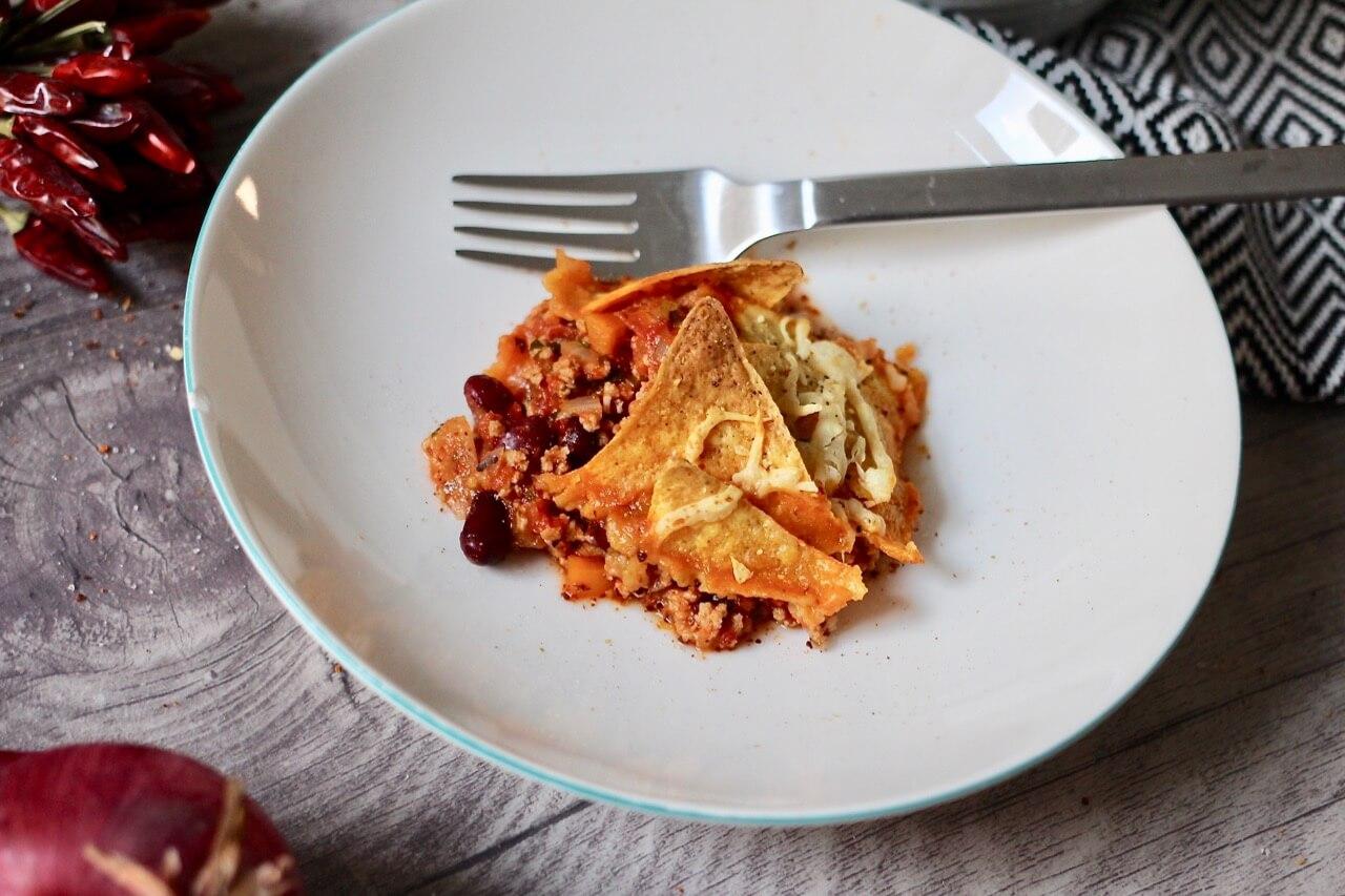 Rezept Mexikanischer Eintopf mit Nachos