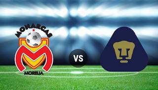 Ver Monarcas Morelia vs Pumas UNAM En vivo 21 de Septiembre 2018 Liga MX
