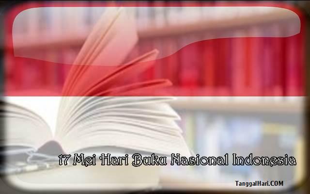 Tanggal 17 MEI Hari Buku Nasional Di Indonesia