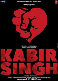 Kabir Singh First Look Poster 1