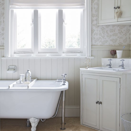 Bathroom Pictures For Wall Uk: To Da Loos: Wainscoting In The Washroom, Which Style Works