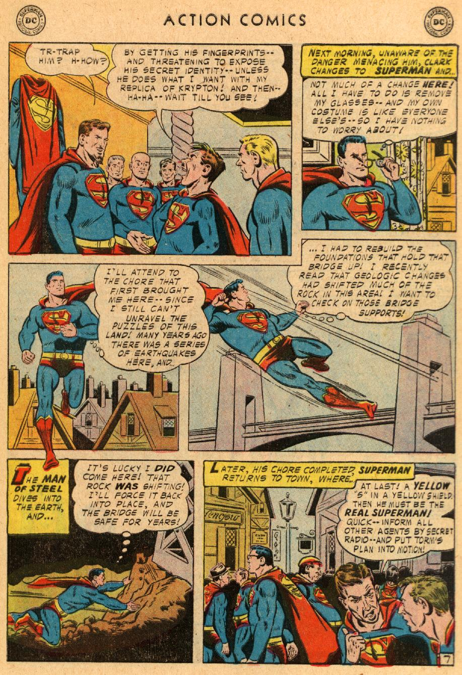 Read online Action Comics (1938) comic -  Issue #233 - 9