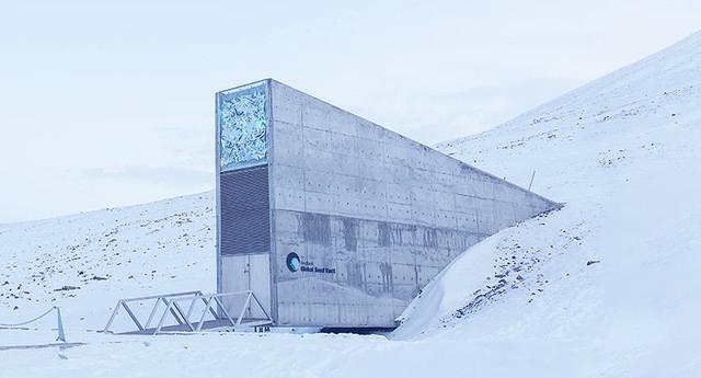 La 'bóveda del fin del mundo' se inunda por el cambio climático