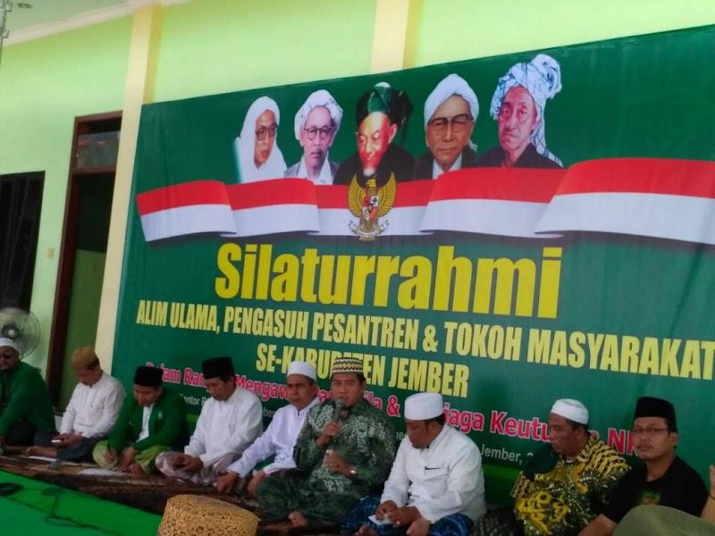 Forum Ulama dan Tokoh Jember Minta Pemerintah Bubarkan HTI Karena Anti Pancasila