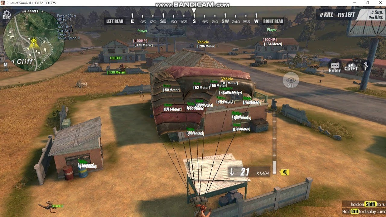 rules of survival hack phone