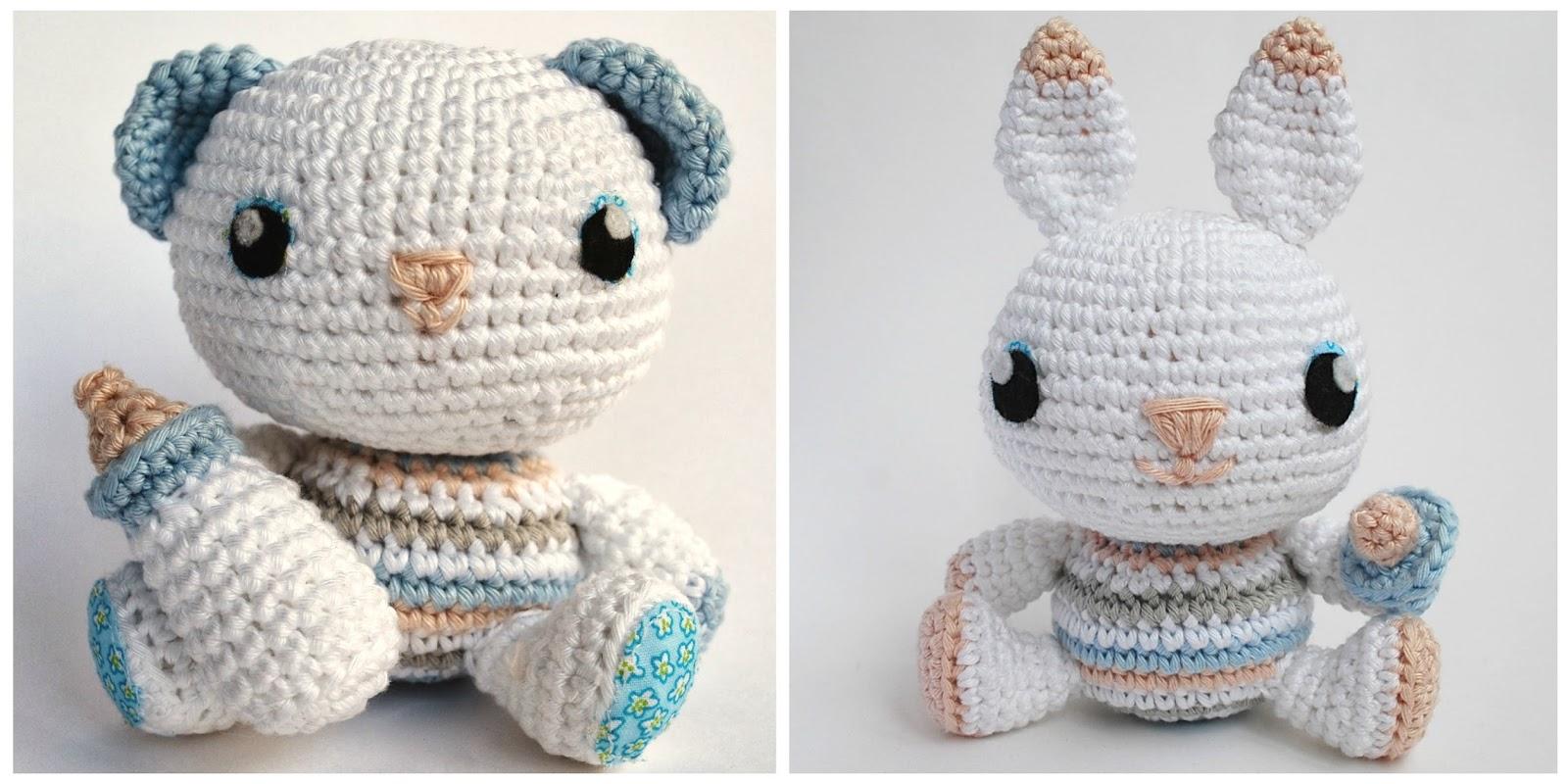 Crafteando, que es gerundio: Un patrón: dos muñecos. Crea nuevos ...