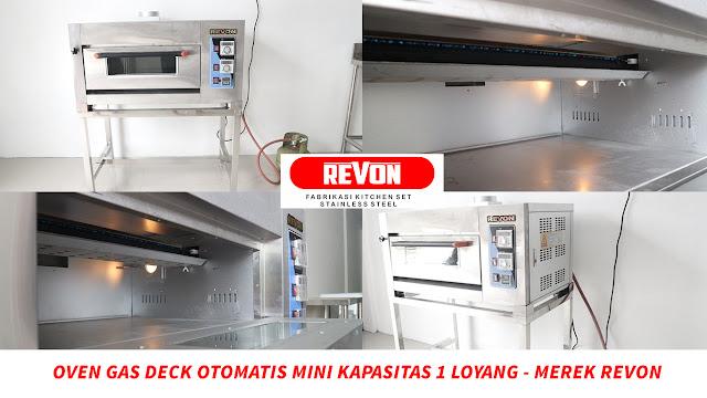 Oven Deck Otomatis Mini di Yogyakarta