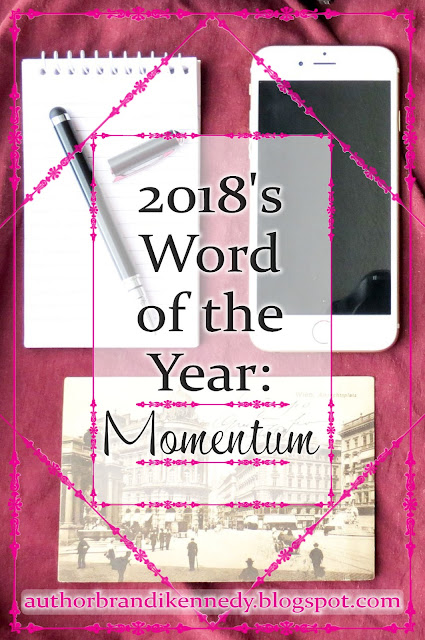 Monday Minute: 2018's Focus Word - Momentum