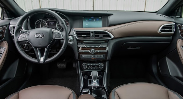 2017 Infiniti QX30 Interior Review