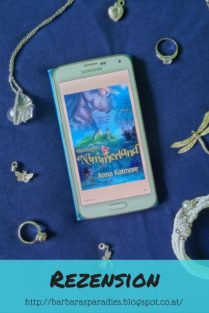 Buchrezension #140 Eine zauberhafte Reise 1: Herzklopfen in Nimmerland von Anna Katmore