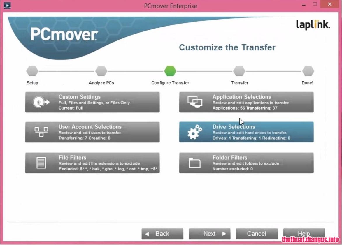 Download PCmover Enterprise 10.1.650 Full Cr@ck – Phần mềm di chuyển dữ liệu ổ cứng