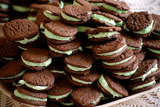 Chocolate Mint Cookies Recipe | Chocolate Recipe Tips Mint Cookies