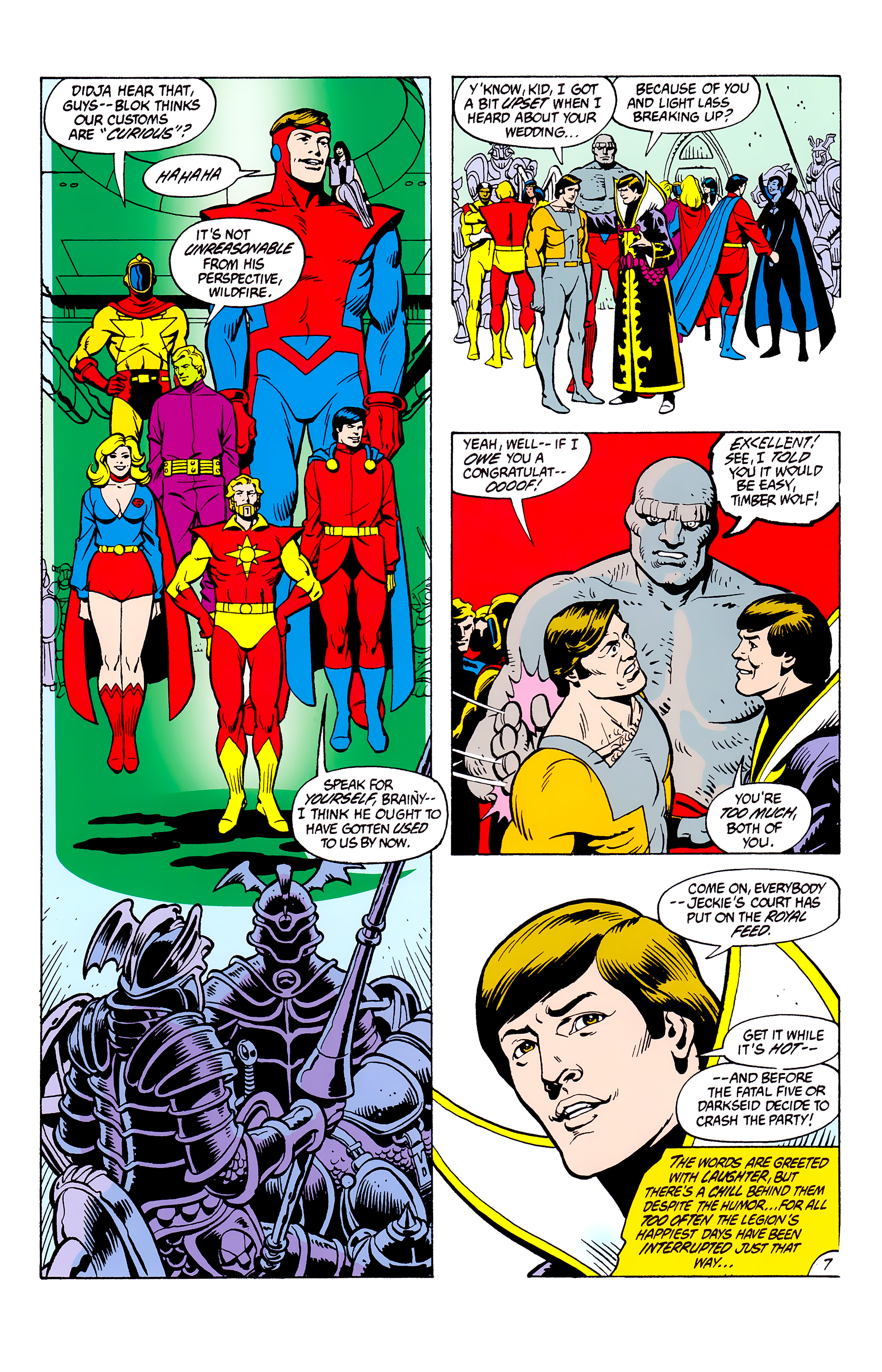Legion of Super-Heroes (1980) _Annual_2 Page 7