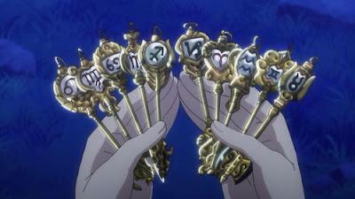Kunci sihir milik Lucy Fairy Tail